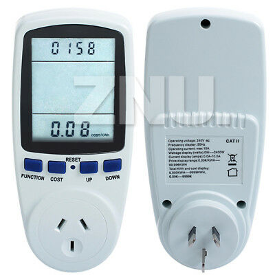 Plug-in Power Consumption Electricity Energy Usage Meter Kill-A-Watt Tester