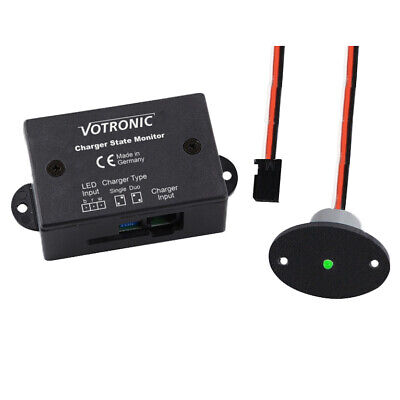 Votronic 2082 Charger State Monitor IP67 für VAC VAC-F VCC Ladegeräte Booster