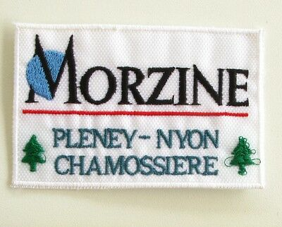 Ancien écusson MORZINE - PLENEY NYON CHAMOSSIERE - Collector -