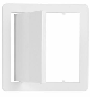 "Access Panel 150x150mm (6x6"")White Inspection Panel Access Hatch Access Door"