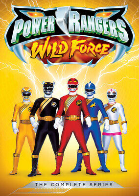 Power Rangers: Wild Force - The Complete Series - 5 DISC SET (2016, DVD NEW)