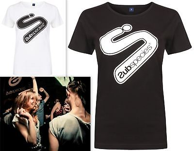 Womens Subspecies T-Shirt Fitted Electro Club Dance Techno House Ibiza Festival