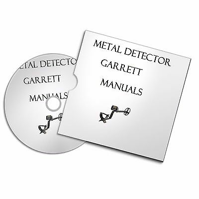 GARRETT METAL DETECTOR USER OWNER MANUALS  DETECTING FREE P+P #Metaldetecting