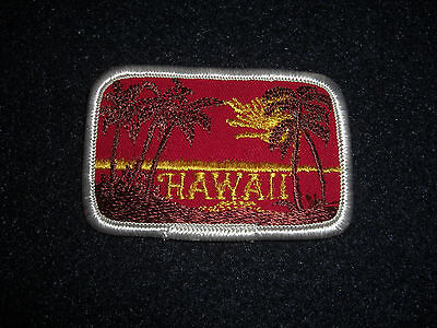 Vintage 1980's Hawaii White Patch