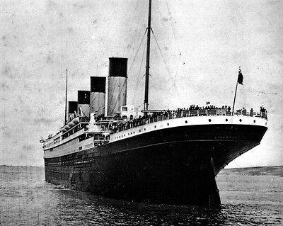 New 11x14 Photo: Stern view of the Ill-Fated White Star Liner RMS TITANIC, 1912