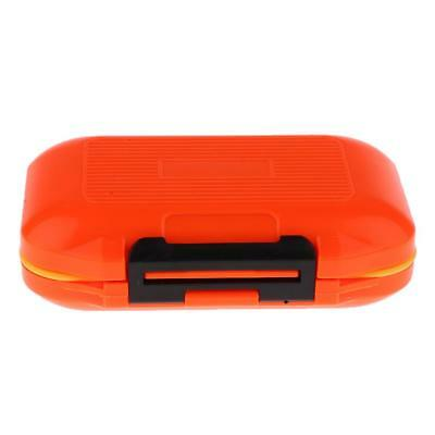 Waterproof 12 Compartments Fishing Lure Bait Hook Tackle Box Case Storage