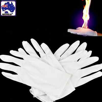 4pcs Flaming Gloves Magic Trick Burning Empty-Handed On Fire Magician GSPGL 1844