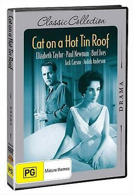 Cat on a Hot Tin Roof (deluxe Edition) - DVD Region 4 Free Shipping!