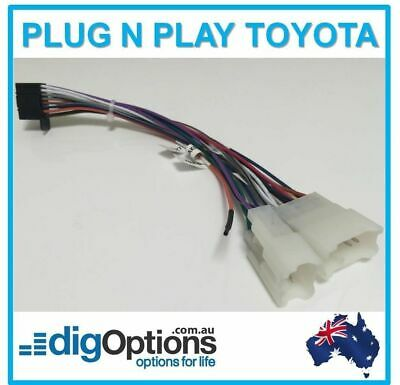 #Plug Stereo Radio For Toyota Wire Harness Wiring Connector ISO Harness 10 Pin
