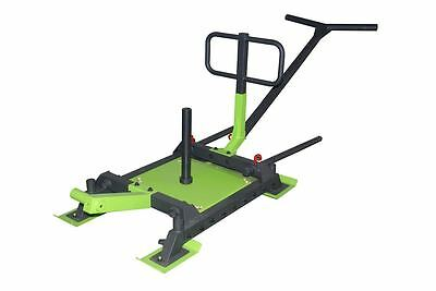 We R Sports Power Lifting Sled Exercise Fitness Weight Drag Crossfit Training