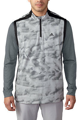 Adidas ClimaStorm Competition Wind Vest Mid Grey AE4509 Water Resistant Mens New
