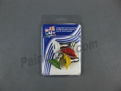 MTM Hydro 17.0150 QC Hydrojet SS 2.5 Power Washer Tips 5 pack