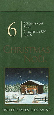 Canada BK234b 55¢ Christmas Creche Complete Booklet MNH