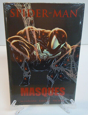 Spider-Man: Masques McFarlane Liefeld Marvel Comics HC Hard Cover New Sealed