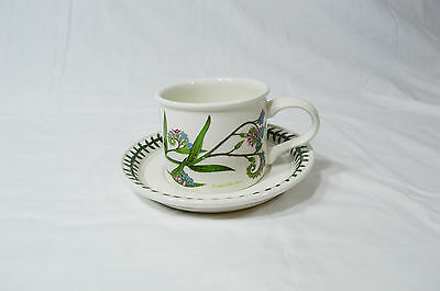Portmeirion Botanic Garden Cup & Saucer Forget Me Not