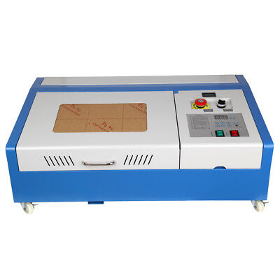 40W USB CO2 Laser Engraving Cutting Machine Engraver Cutter