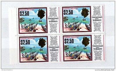 Trinidad & Tobago QEII 1969 $2.50 Block of 4 Mint MNH X2564