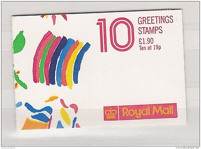 GB 1989 Greetings &pound 1.90 Complete Booklet FYI ZZ1717