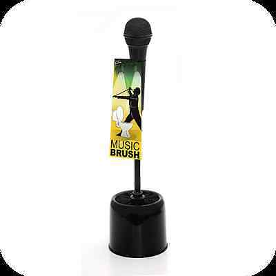 Dhink GH-010T Microphone Toilet Brush To Bring Fun/Funky Touch To Your Bathroom