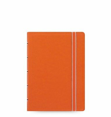 Filofax Notebook Pocket Orange 115004 A7 Notizbuch softes Kunstleder-Cover