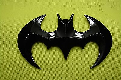 Batman  3D Abs Black Emblem Sticker Logo Badge Decal For Cars& Bikes Usa Seller