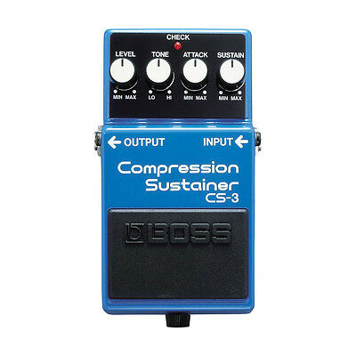 Boss CS-3 Compression Sustainer Electric Guitar & Bass Effects Pedal
