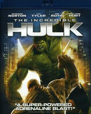 Incredible Hulk (2012, Blu-ray NEW) BLU-RAY/WS