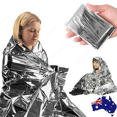 10 Pack Space Blanket LARGE Thermal Foil Emergency Camping Rescue First Aid