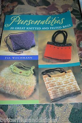 dcd8192b5f03 PURSENALITIES: 20 GREAT Knitted and Felted Bags by Eva Wiechmann ...
