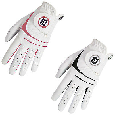 Footjoy Womens Weathersof Left Hand Golf Glove - New Colours Leather Fj Logo