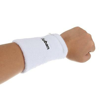 Unisex Sport Sweat Band Zippered Wrist Band Basketball Tennis Protector