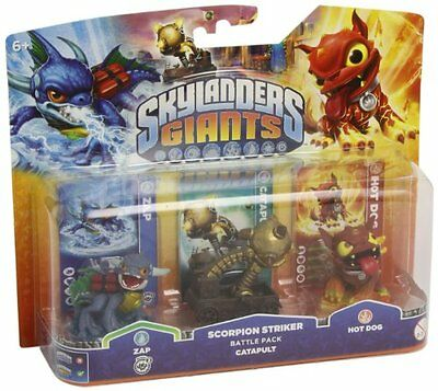 Skylanders Giants - Scorpion Striker, Zap, Hot Dog (All Formats) 5030917119965