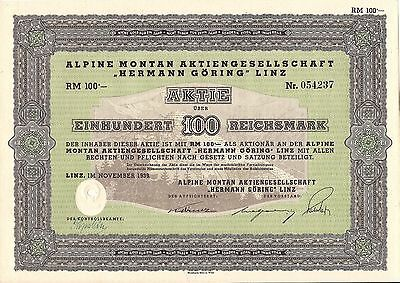 German Bond Alpine Montan - Montain Hermann Göring 1939 (Herman Goring Goering)
