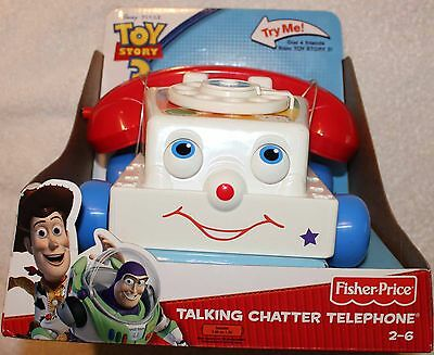 Toy Story 3 TALKING CHATTER TELEPHONE with 21 dIfferent phrases!