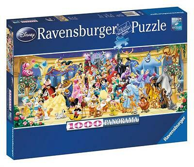 Ravensburger 15109 Disney Panoramic 1000 Piece High Quality Jigsaw Puzzle - New