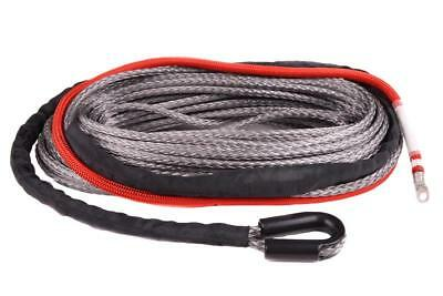 Dyneema® Synthetik Windenseil Synthetic Rope 8mm 40m 8.1t Fiber Beast CarbonPro