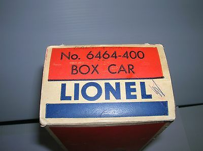 Lionel #6464-400 Box only sold post war  as is lot #8933