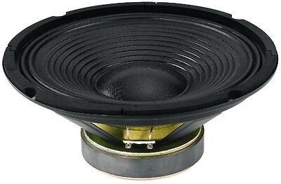 "Monacor Sp-252Pa Woofer Professionale 25Cm 10"" 150 Watt Max 8Ohm 90Db Universale"