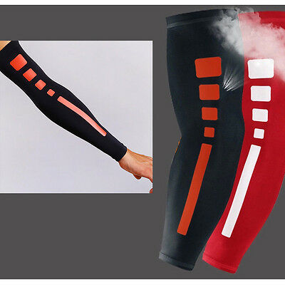 Hotsale Pad Elbow Protector Elastic Sport Arm Warmers Sleeve Cover Support