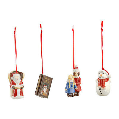 Villeroy & and Boch Nostalgic Ornaments SANTA Christmas tree decorations NEW