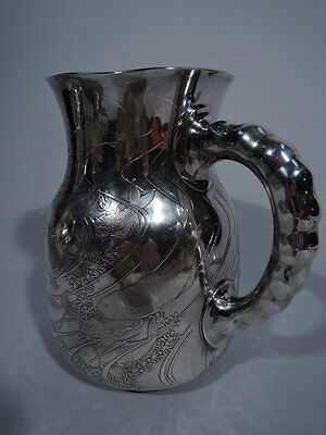 Dominick & Haff Water Pitcher - 84 - Japonesque - American Sterling Silver