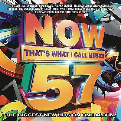 Now That's What I Call Music! 57 by Various Artists (CD, Feb-2016) NEW