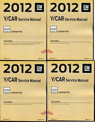 corvette shop manual service repair 2003 chevrolet factory book z06 rh picclick com 2012 corvette z06 owners manual 2012 corvette z06 owners manual