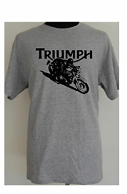 TRIUMPH CAFE RACER - motorcycle t-shirt - S to 5XL