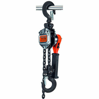 Haul-Master 1/4 TON LEVER CHAIN HOIST EASY LIFTS 500 LBS. AND FREE SHIPPING!!!