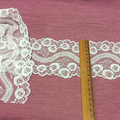 Vintage  Lace Trim Edging White Doll  Baby Craft Heirloom Sewing 90cm