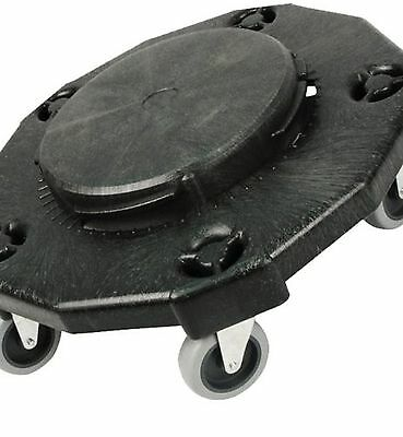 Round Dolly Rolling Wheel Trash Cans Garbage Container Parts 400lbs Capacity