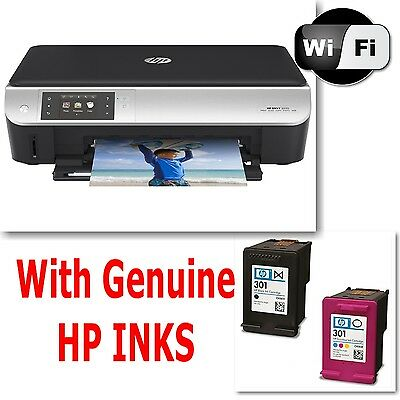 HP Envy 5530 All in One WIRELESS PRINTER SCANNER COPIER + Inks