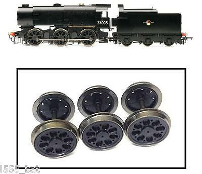 New Genuine Hornby Spares Parts X9222 Tender Wheels & Axles Set For Q1 Class