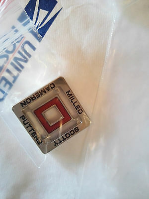 New Rare SCOTTY CAMERON 2012 TCC RED Billet Block Ball Marker Made in USA